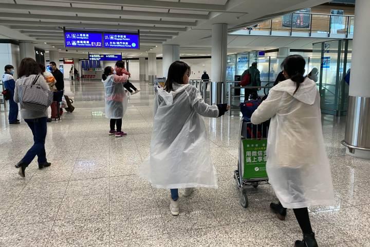 Aeropuerto de Hong Kong Foto: Lei Han