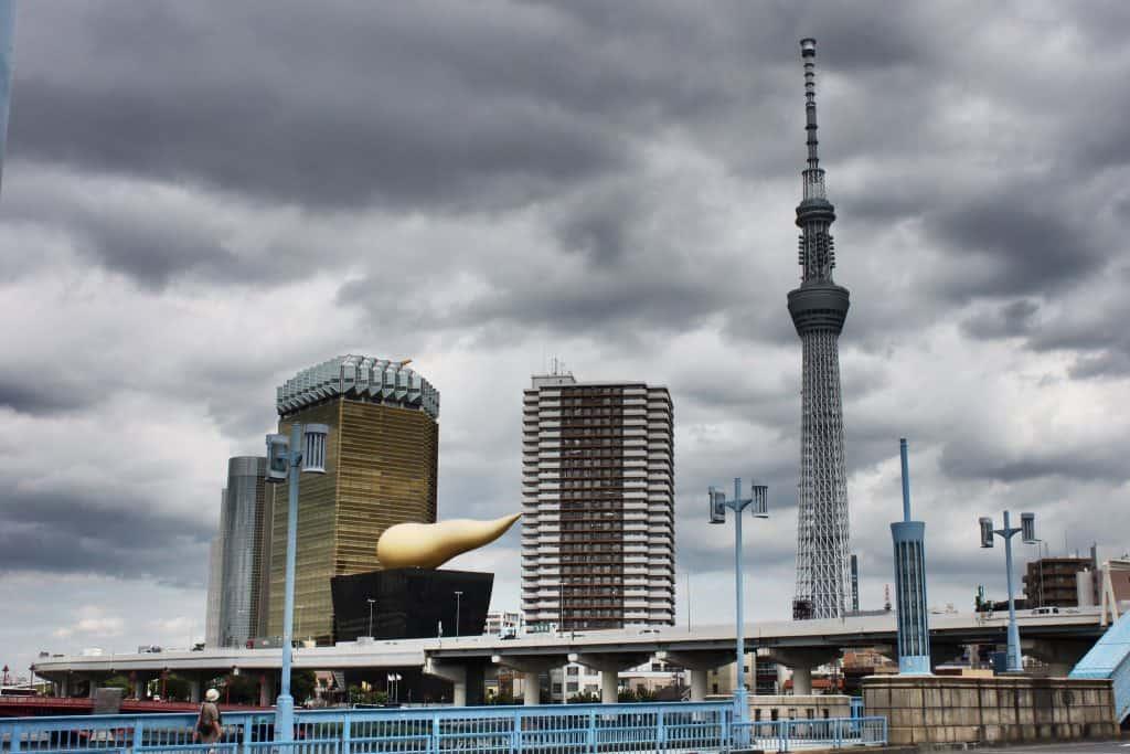 Asahin y Skytree Foto: Archivo