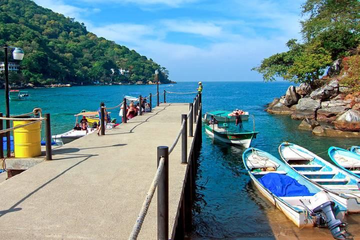 Boca de Tomatlán Foto: Gilles Frechette