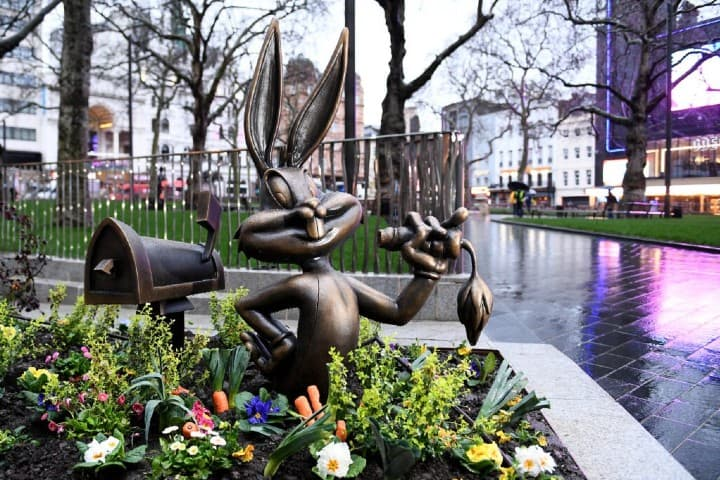 Bugs Bunny Leicester Square Foto: Archivo