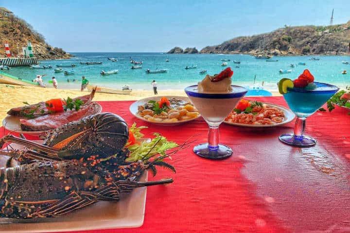 Restaurante Brisas del Mar Foto Restaurante Brisas del Mar, Oaxaca