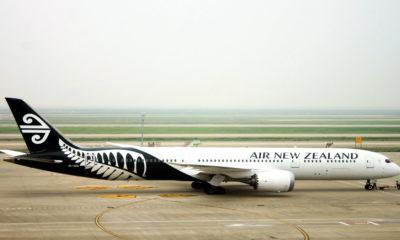 Camas Skynest en Air New Zealand. Foto 廷宇 王