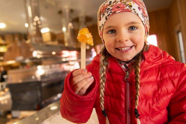 Caramelo de maple Foto: Sucrerie Bonaventure