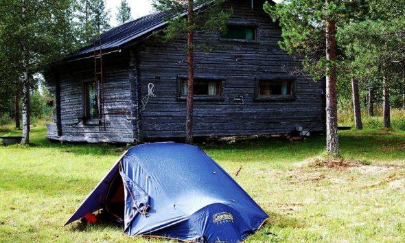 Casa de campaña Foto: makunin