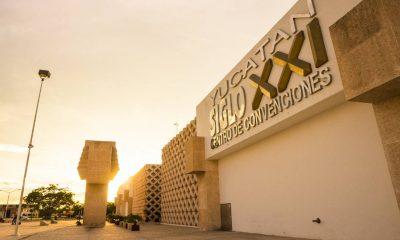 Centro de Convenciones Siglo XXI de Mérida Foto: Lucy Nieto