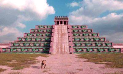 Cómo se vería Teotihuacán en la actualidad. Foto: Mitología Mexica
