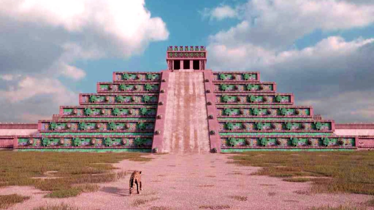 Cómo se vería Teotihuacán en la actualidad