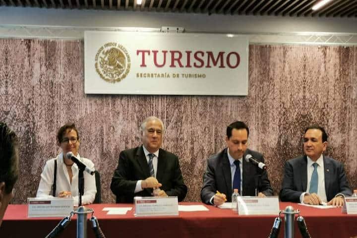 Conferencia de prensa Tianguis Turístico 2020 Foto Secretaría de Turismo. México