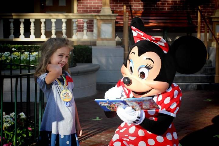 Diversión en Disney Foto: Ron Thorp