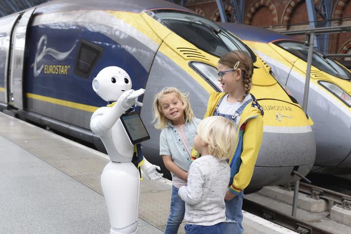 Travel Daily Foto: Eurostar Robot