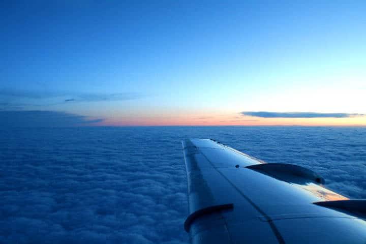 Ala de avión Foto: Kyu