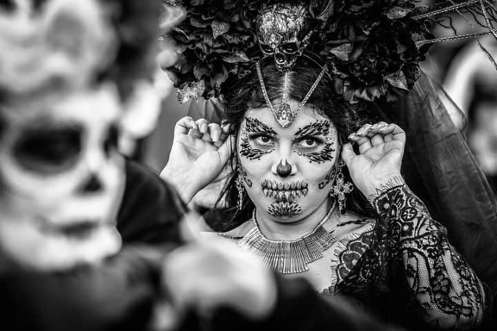 Festival de Día de Muertos Foto: Bill Hamilton
