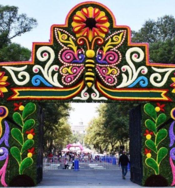 Festival de flores y jardines. Foto Georgina Rodriguez