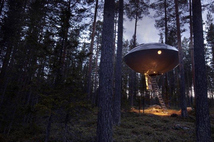 Hoteles Extraños como Treehotel Foto Treehotel