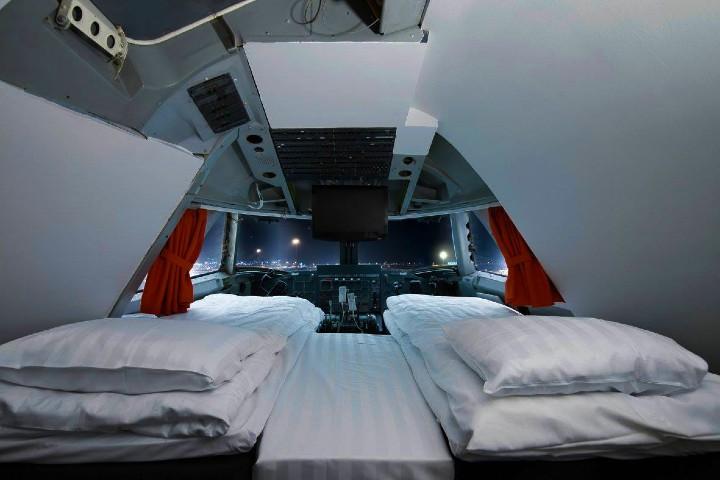 Hoteles extraños alrededor del mundo. Jumbo Stay