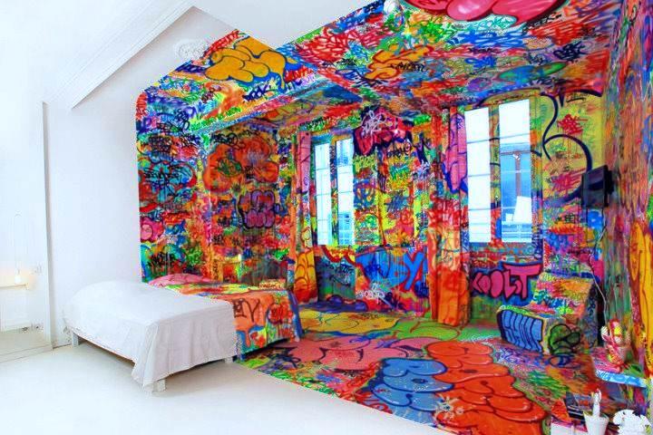 Hoteles extraños alrededor del mundo. Panic Room. Foto: Archivo