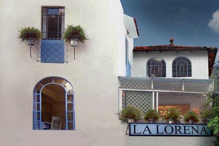 La Lorena. Restaurantes estilo shabby chic en Ciudad de México. Foto: La Lorena