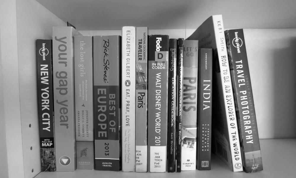 Libros de viaje Foto Emma