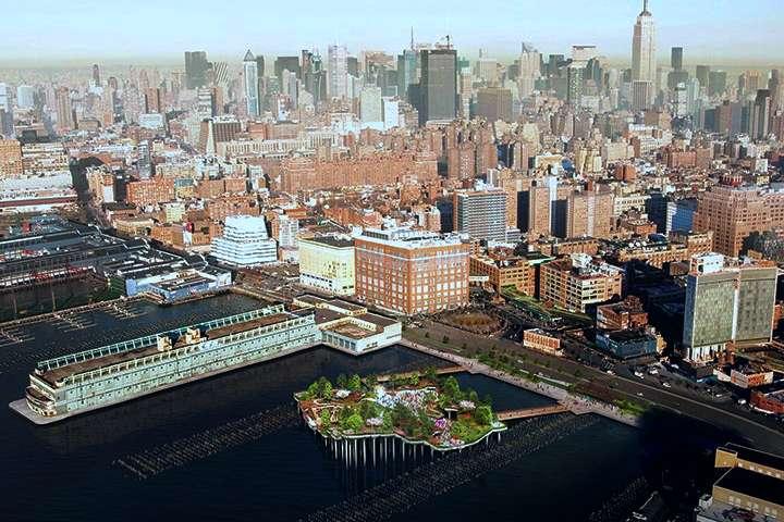 Little Island el parque flotante en NYC