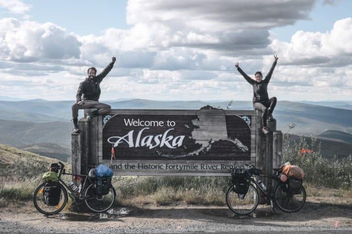 Llegando a Alaska Foto Juan Sisto