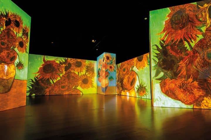 Los Girasoles Foto: Van Gogh Alive The Experience