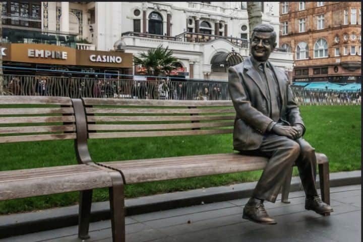 Mr. Bean in Leicester Square Foto: Brian Marshall