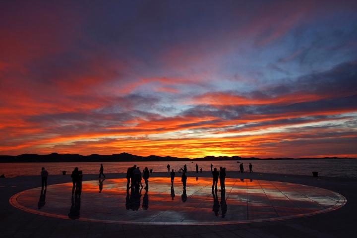 Órgano de mar en Croacia. Foto_ Pinterest