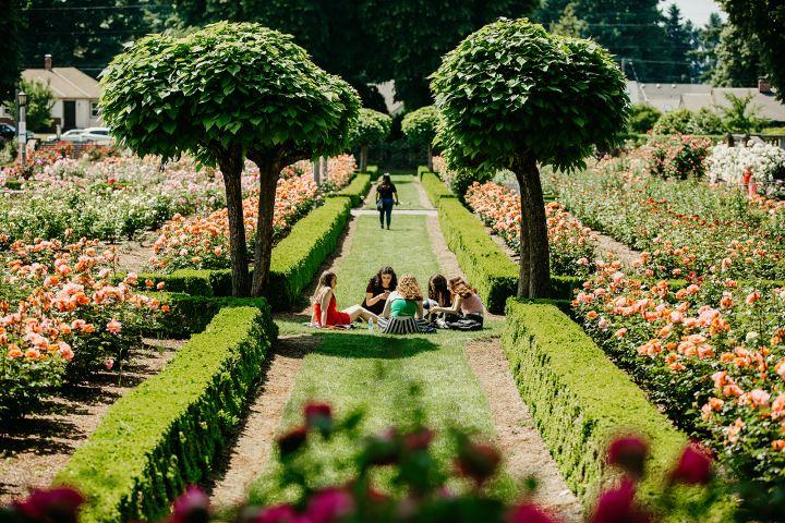 Ashley Anderson Travel Portland Foto:  Ciudad de las rosas
