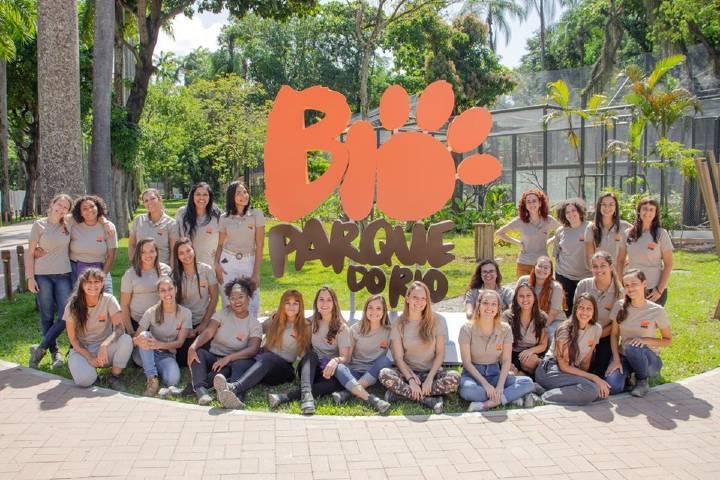 Personal de BioParque Foto: RioZoo Facebook
