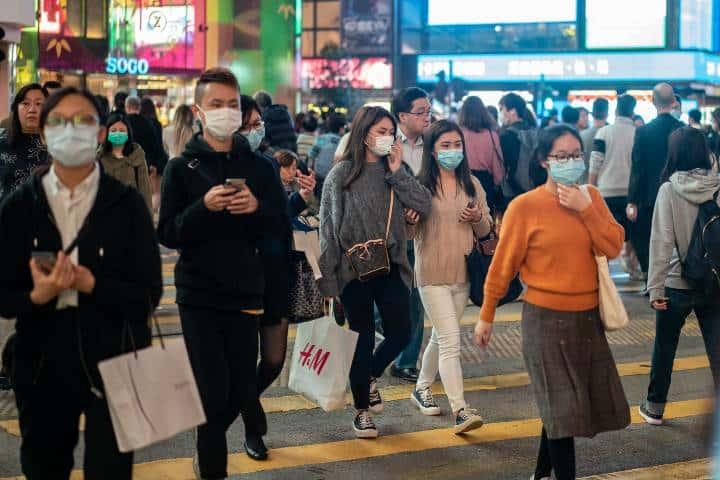 Protección contra el coronavirus Foto: Snehal Kataruka