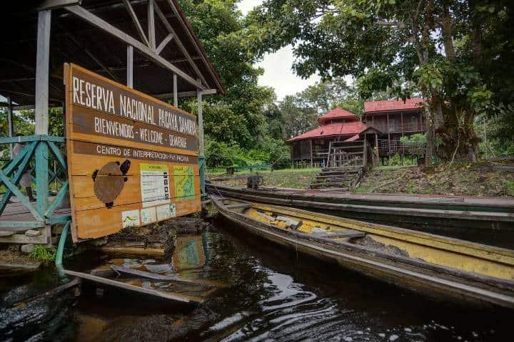 Reserva Nacional Pacaya Samiria Foto: Scott Ableman