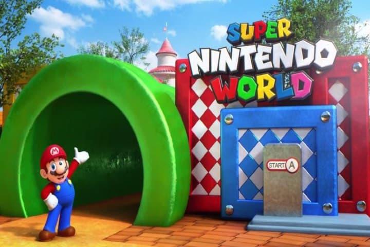 Súper Nintendo World Foto: Twitter