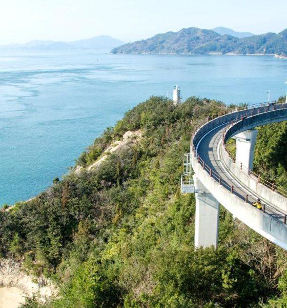 Shimanami Kaido, la ciclovía de Japon. Foto cotaro70s