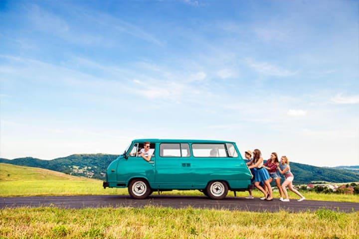 Siempre hay que planear bien los viajes con amigos Foto_ Alamy Stock Photo