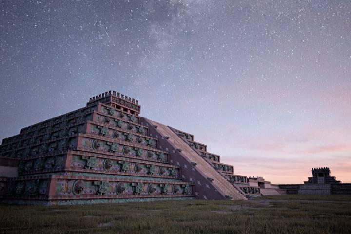 Teotihuacán Foto: iToo
