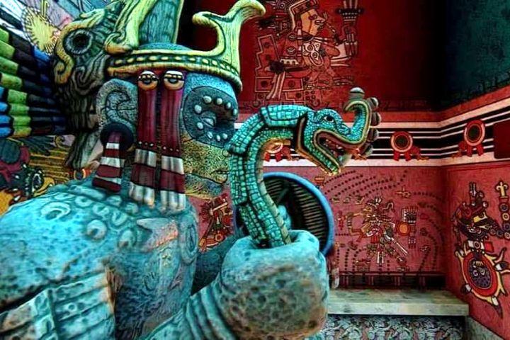 Cómo se vería Teotihuacán en la actualidad.