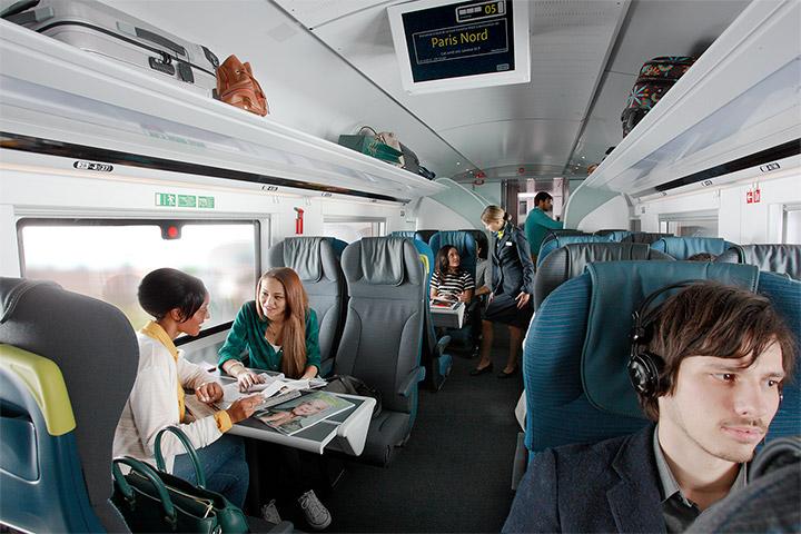 Trianline Foto: Eurostar interior