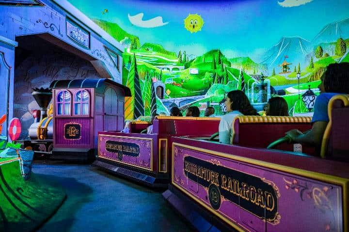 Atracción Mickey & Minnie's Runaway Railway. Foto: Disney´s Hollywood Studios