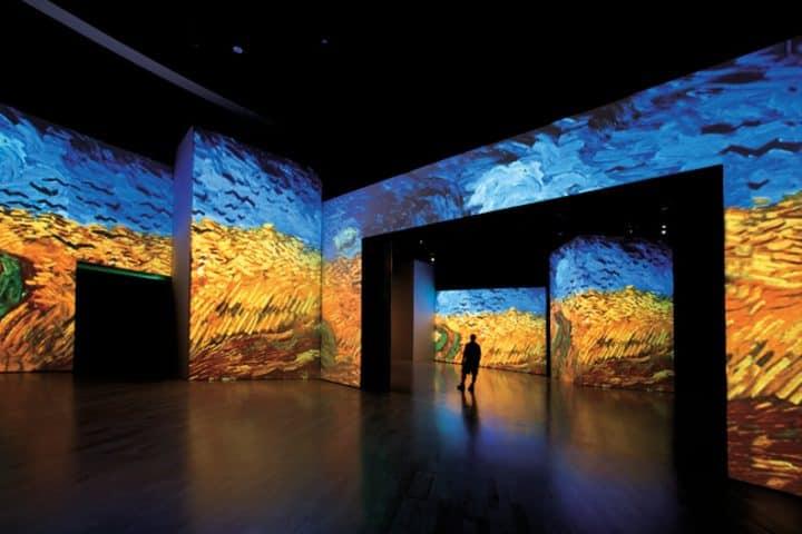 Trigal con cuervos Foto: Van Gogh Alive The Experience