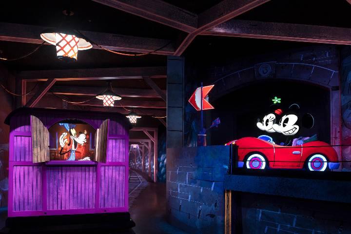Atracción Mickey & Minnie's Runaway Railway Foto: Disney´s Hollywood Studios