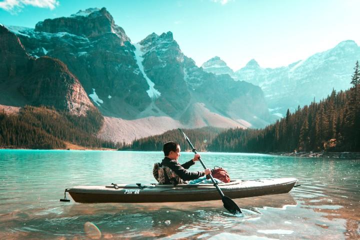 Turismo de aventura en Alberta Canadá.
