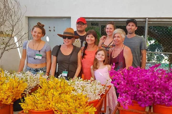 Turistas en Vivaplants Foto: Vivaplants