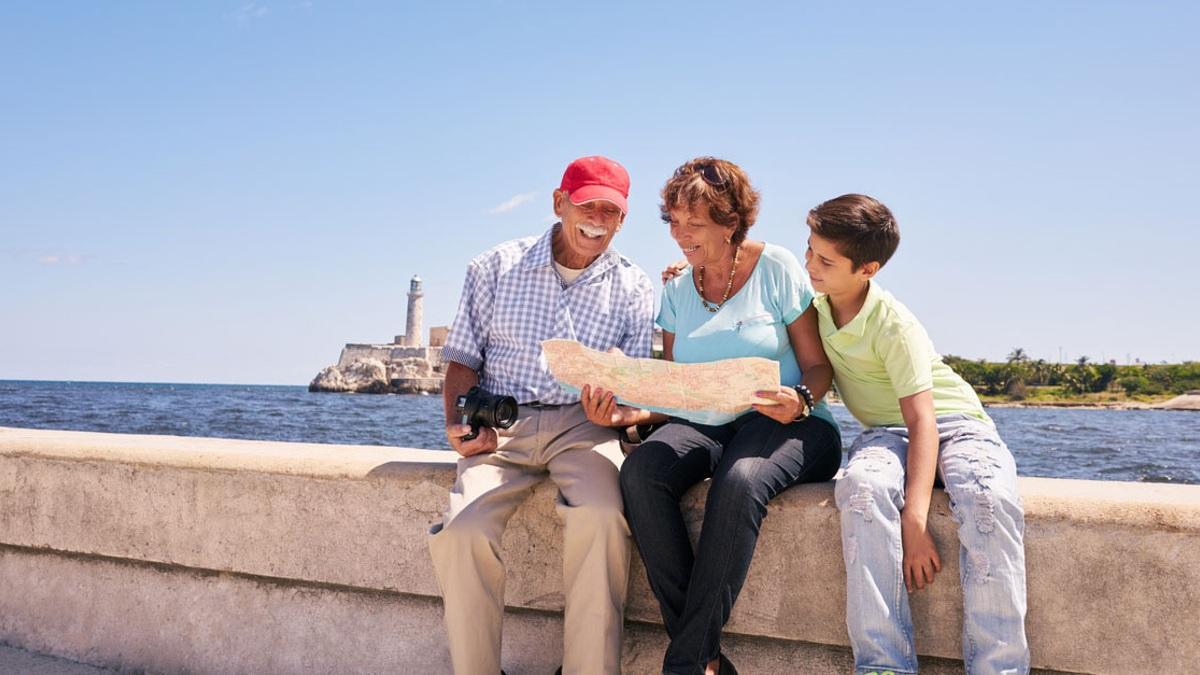 Un viaje con los abuelos, un viaje inolvidable. Foto: stannah