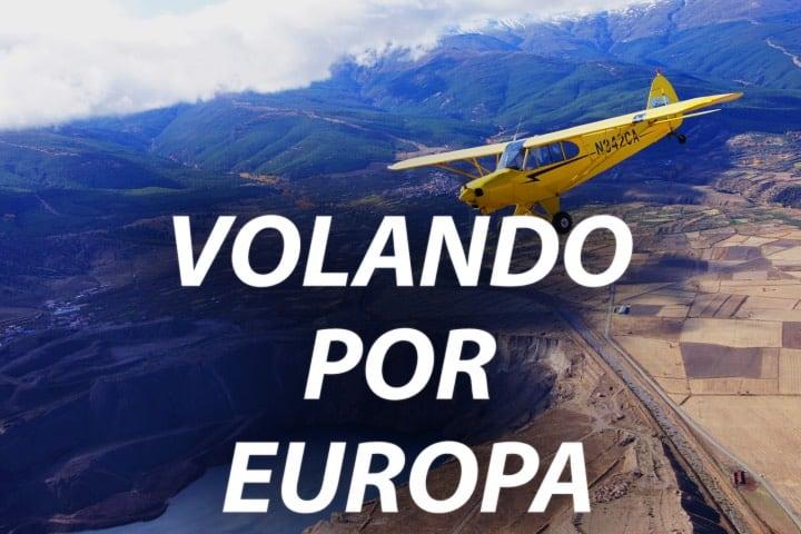 Documentales para viajar sin salir de casa.. Volando por Europa. Foto Amazon Prime