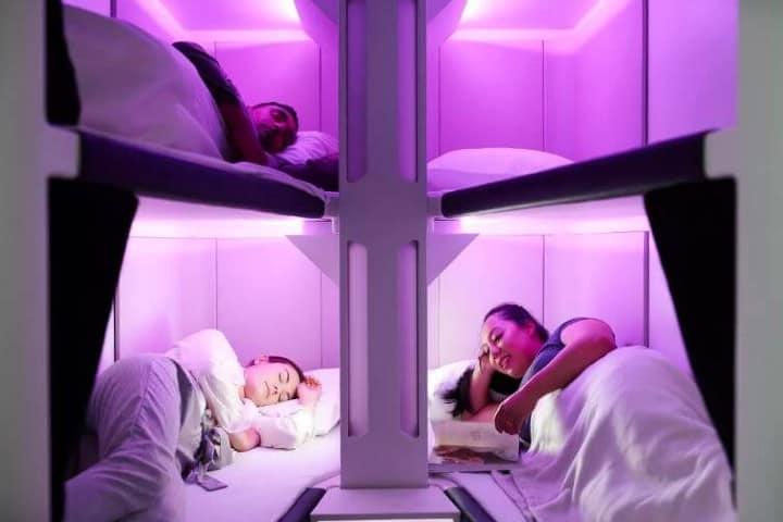 Modelo de distribución. Foto: Air New Zealand