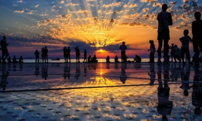 Órgano de mar en Croacia. Foto: Croatia Full of life