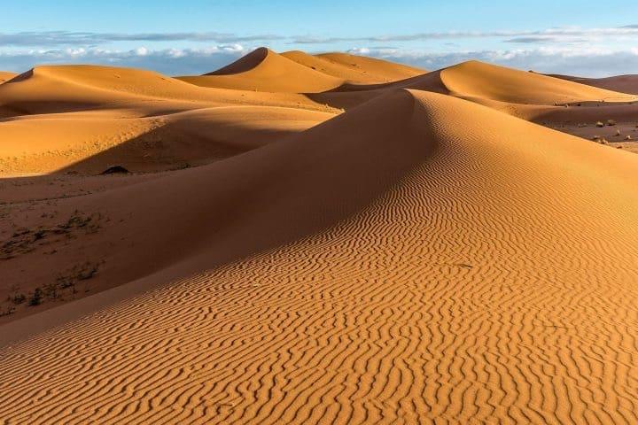 Dunas del Sahara Foto: El Viajero Feliz