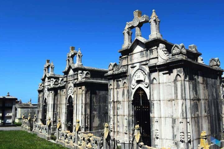 Cementerio de Ciriego, parte de la ruta de cementerios de España Foto: Descubre Santander