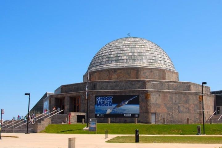 Adler Planetarium en Chicago Foto Mason Flickr