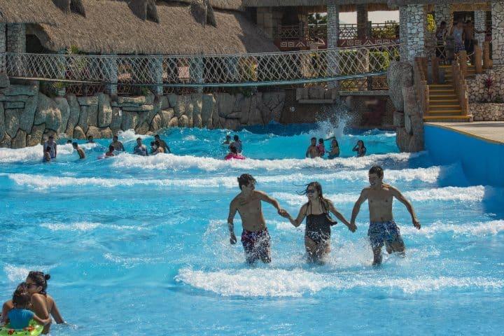 Alberca de olas Foto: Parque Acuático Te-Pathé